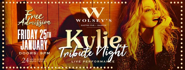 kylie tribute night